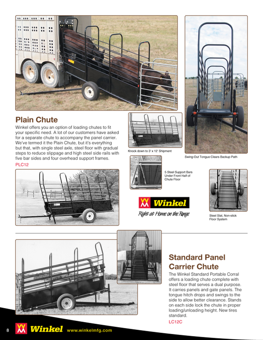Loading Chute & Panel Carrier